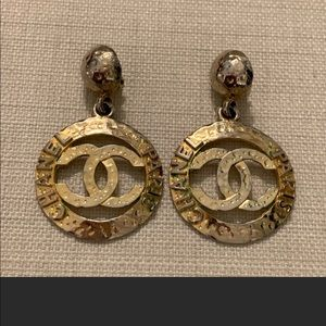 Authentic Chanel vintage earrings